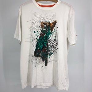 Nike air max Dri Fit NSW LeBron T shirt Large exc